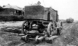 South African Dutton road-rail tractors - Image: Dutton Road Rail Tractor prototype no. RR1501 f