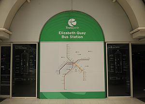 Elizabeth Quay Bus Station - Image: E37 Elizabeth Quay (1Feb 2016) 02
