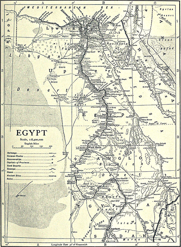 1911 Encyclop Dia Britannica Egypt 2 Ancient Egypt