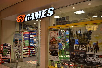 EB Games - EB Games in Hillcrest Mall in February 2015.