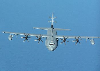 English: USAF EC-130J Commando Solo built by L...