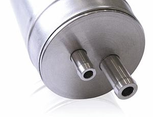 Magnetic pulse welding - Magnetic pulse welded HVAC pressure vessel