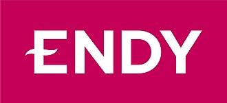 Endy Sleep - Image: ENDY WORDMARK TAB PINK WEB 01