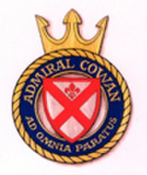 Walter Cowan - Crest of the Estonian ship ''Admiral Cowan''
