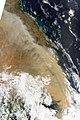 E Aust dust storm - MODIS Terra 1km - 23 Sept 2009 - 01.jpg