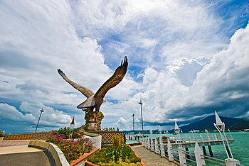 Eagle Square. It is one of Langkawi's best known manmade attractions.