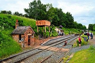 Eardington Halt railway station Former station in Shropshire, England