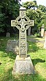 Early Medieval Style Cross in St James' Churchyard, North Cray.jpg