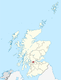 East Dunbartonshire in Scotland.svg