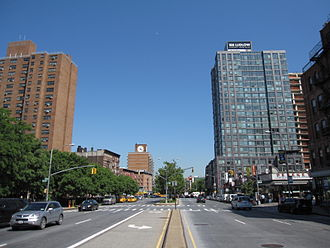 Houston Street - Looking east from Orchard Street