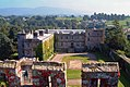 East range of Appleby Castle as seen from the keep, 2002.jpg