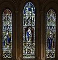 East window, St Mary's church. Battle (15914587871).jpg