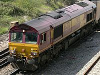 Eastbound EWS 66230 from Hambrook Lane bridge 03.jpg