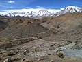 Eastern Sierra Nevada Mountains from the Tungsten Blue Mine in the Tungsten Hills, Looking S-SW, Inyo Co., CA - panoramio.jpg