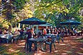 Easton Lodge Gardens, Little Easton, Essex, England outdoor café 04 digiart 04.jpg