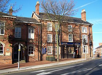 Midland Counties Railway - The Sun Inn, Eastwood, Nottinghamshire, birthplace of the Midland Counties' Railway, 1832