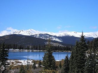 Echo Lake Park - After Year's First Snowfall