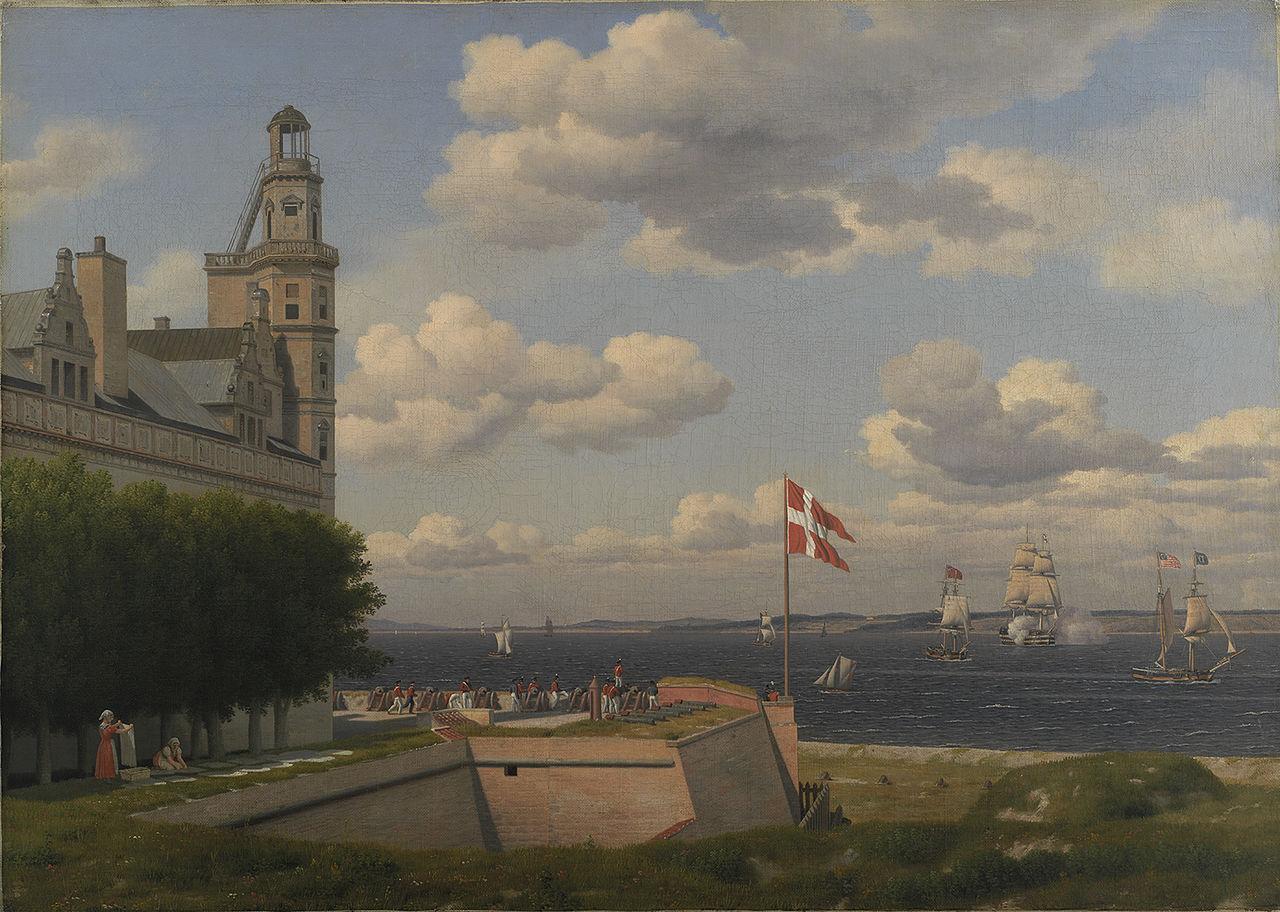 Eckersberg Udsigt fra Kronborg Vold.jpg