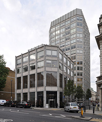 The Economist - The Economist Building (until 2017), St James's Street, photo by Alison and Peter Smithson