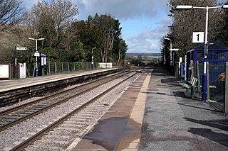 Edale railway station Railway station in Derbyshire, England