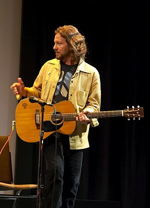 Eddie Vedder plays a solo acoustic set followi...