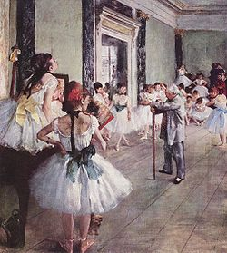 The Dance Class (La Classe de Danse),1873–1876, oil on canvas, by Edgar Degas