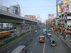 The north end of EDSA in Caloocan