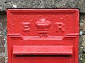 Edward VII postbox (close up) - geograph.org.uk - 488252.jpg