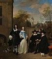 Een gezelschap in een tuin Rijksmuseum SK-A-3932.jpeg