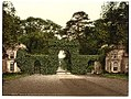Eglington Castle, entrance gates, Irvine, Scotland LOC 3449518417.jpg