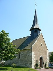 The church in Caugé