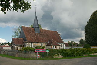 Champ-Dolent Commune in Normandy, France
