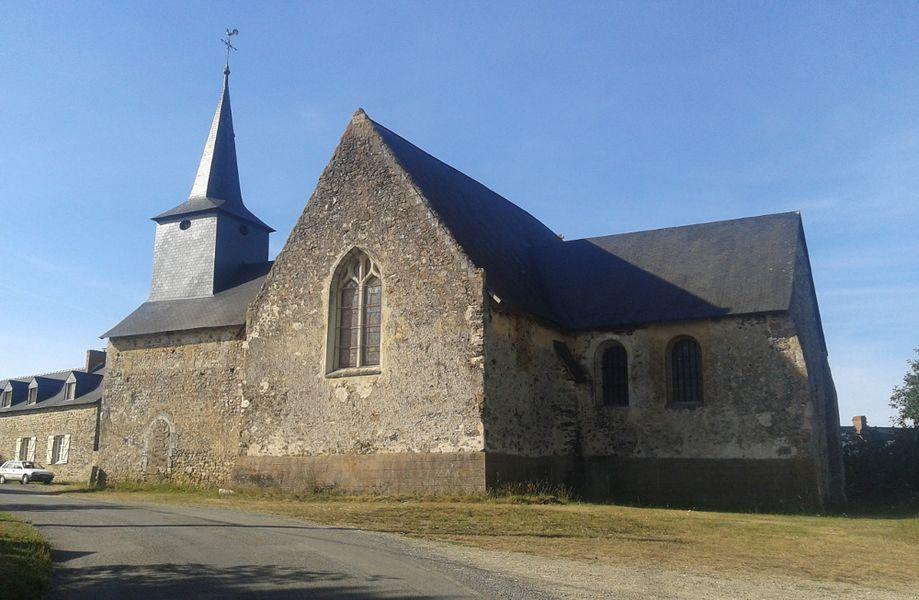 Église Saint-Martin de Nuillé sur Ouette