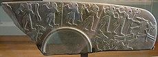 Paleta ceremonial de época protodinástica. Louvre