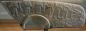 Throw stick (hieroglyph) - Image: Egypte louvre 321