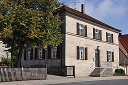 This is a photograph of an architectural monument.It is on the list of cultural monuments of Bayern, no. D-5-72-147-6