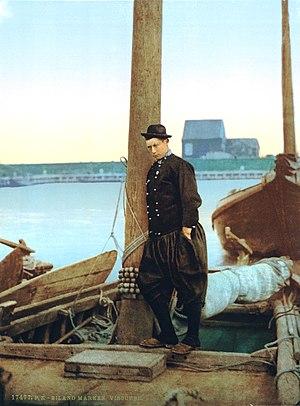 Marken - Image: Eiland Marken Visser 1900