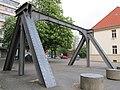 Eisenbahnbrückenportal - Hannover-Nordstadt Uni-Campus Apellstraße-Callinstraße - panoramio.jpg