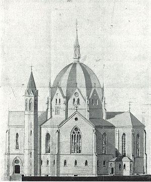 Octagonal churches in Norway - Wilhelm von Hanno: Trinity Church with its octagonal dome