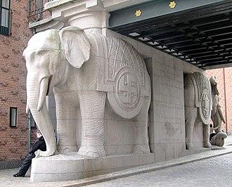 Hans Peder Pedersen-Dan - Image: Elefantporten Ny Carlsberg