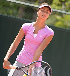 Elizaveta Kulichkova Russian tennis player