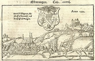 Paul Speratus - Ellwangen 1549