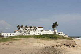 fort and former trading post in Elmina, Ghana