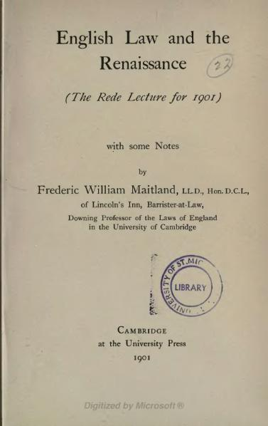 File:English Law and the Renaissance.djvu
