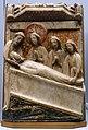 Entombment of Christ, England, c. 1380-1420, alabaster with polychrome - Cinquantenaire Museum - Brussels, Belgium - DSC08563.jpg