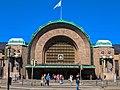 Entrance Helsinki Central railway station 2018.jpg