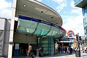 Image illustrative de l'article Southwark (métro de Londres)