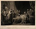 Erasistratus, a physician, realising that Antiochus's (son o Wellcome V0015929.jpg