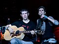 Eric Avery and Perry Farrell of Jane's Addiction, Chula Vista 2009.jpg