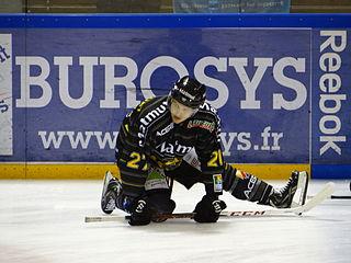 Éric Castonguay Canadian ice hockey player